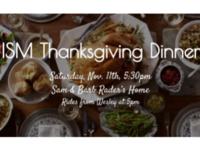 ISM Thanksgiving Dinner