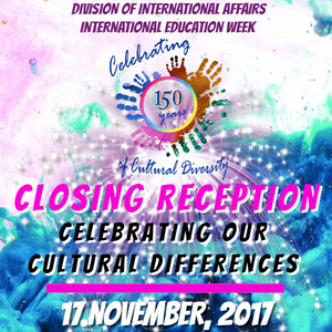 International Education Week 2017: Celebrating Our Cultural Traditions