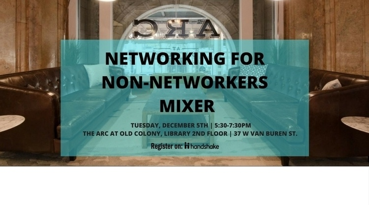 Networking for Non-Networkers Mixer