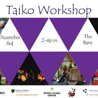 Japanese Taiko Drumming Workshop