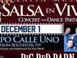 LIVE Salsa and Merengue Till You Drop!