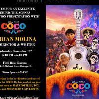 Go Behind-The-Scenes with Adrian Molina the co-Director & Writer of Pixar's COCO