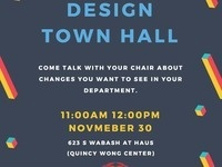 Design Department Town Hall