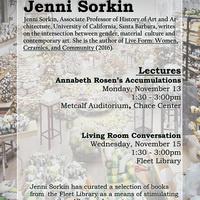 Living Room Conversations | Jenni Sorkin | Ceramic Department