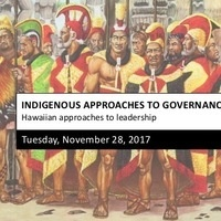 Indigenous Approaches to Governance