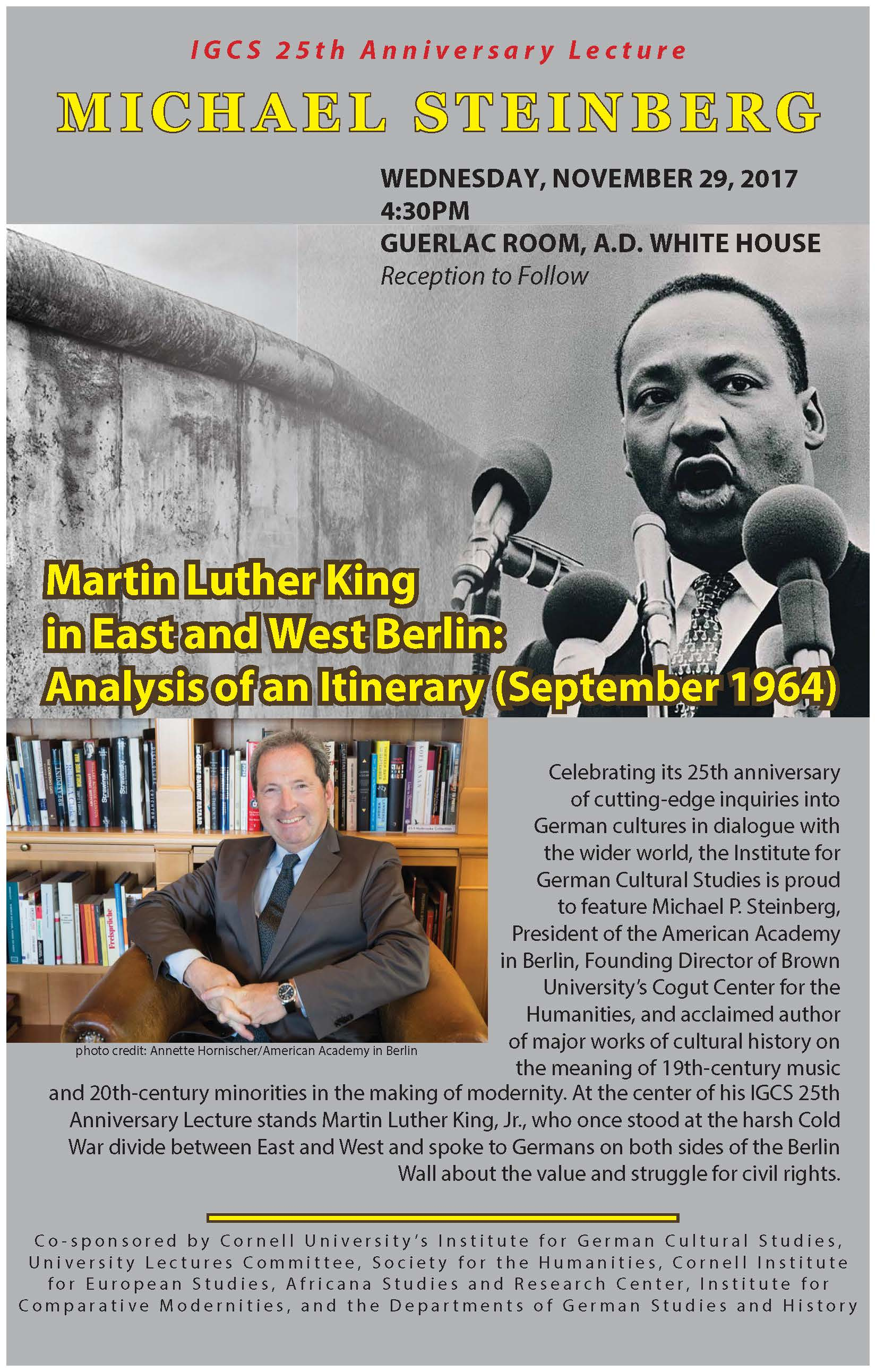 Martin Luther King in East and West Berlin: Analysis of an Itinerary (September 1964)