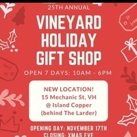 Vineyard Holiday Gift Shop