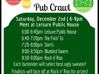 St. Johns Ugly Sweater Pub Crawl