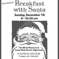 Breakfast With Santa - Christmas in Edgartown