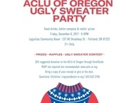 ACLU of Oregon Ugly Sweater Party