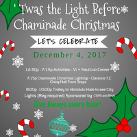 U0027Twas The Light Before Chaminade Christmas. U0027