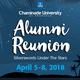 Alumni Reunion, April 5 - 8, 2018