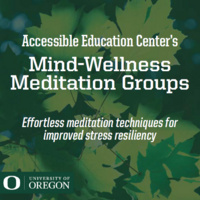 AEC's Mind-Wellness Meditation Group: Effortless Meditation Techniques for Improved Stress Resiliency