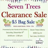 Friends of the Seven Trees Branch Library Book Sale
