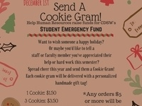 Cookie Grams for Student Emergency Fund!