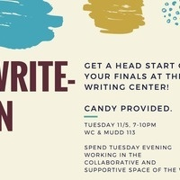 Write-In with the Writing Center