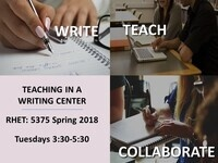 Teaching in a Writing Center Seminar/Practicum