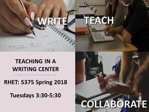 Teaching in a Writing Center Seminar/Practicum