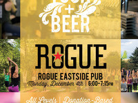 Yoga + Beer at Rogue Eastside Pub