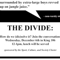 The Divide: How do we (Dis)Solve It?