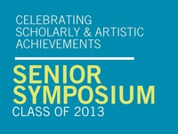 Senior Symposium Proposal Submission Deadline
