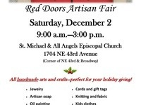 Red Doors Artisan Fair