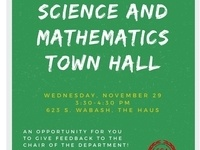 Science and Mathematics Town Hall
