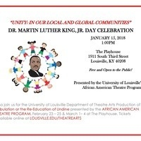 Dr. Martin Luther King, Jr. Day Celebration