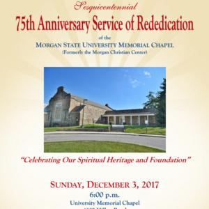 75th Anniversary Service of Rededication