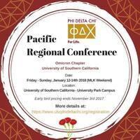 Phi Delta Chi Pacific Regional Conference
