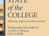 Annual State of the College