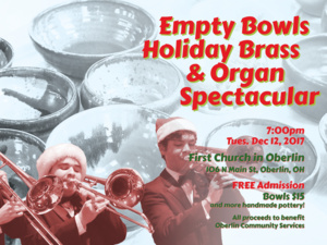 Empty Bowls Holiday Brass & Organ Spectacular