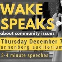 Wake Speaks