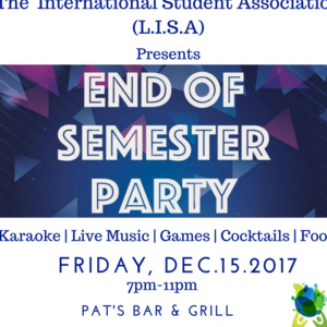 L.I.S.A. End of Semester Gathering