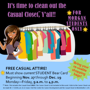 Casual Closet Cleanout