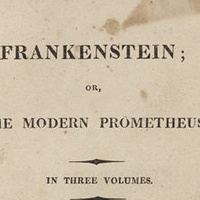 EXHIBITION - Frankenstein: Penetrating the Secrets of Nature