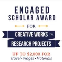 Engaged Scholar Award (ESA) application opens