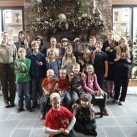 Natural Ornaments: Homeschool Day