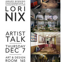 Art & Design Visiting Artist Lori Nix