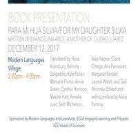 Book Presentation: Para Mi Hija Silvia/For My Daughter Silvia