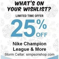 Nike & Champion Sale!