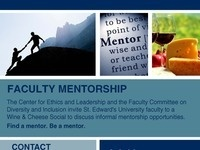 Center for Ethics & Leadership Faculty Mentorship Social