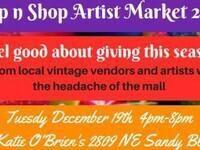 Sip n' Shop Artist Market