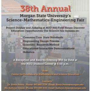 38th Annual Science-Mathematics-Engineering Fair