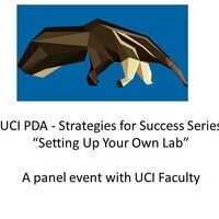 "PDA Strategies for Success Series presents ""Setting Up Your Own Lab"""