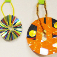 Ornament Making with sparc! the ArtMobile