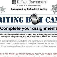 SNL Writing Boot Camp