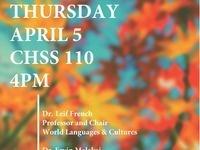 CHSS Colloquium Series Featuring Dr. Leif French & Dr. Ervin Malakaj