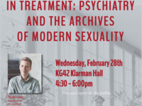 In Treatment: Psychiatry and the Archives of Modern Sexuality