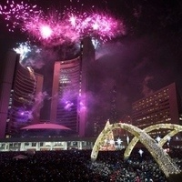 New Years Eve at Nathan Philips Square